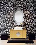 Как установить зеркало в ванной комнате?