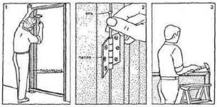 Устранение косяков после Установки межкомнатной двери
