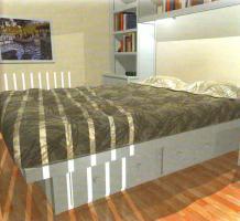 Как сделать кровать?