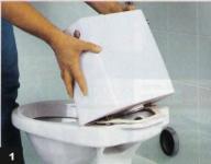 Как починить заливной клапан унитаза?