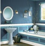 Ванная комната покрасить стены