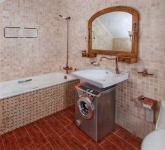 Стиралка в ванной