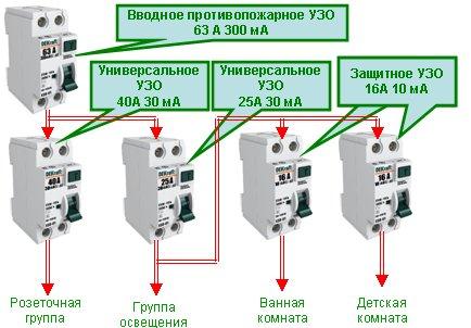 Вд1 63 схема подключения