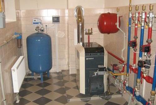 Как обогреть дом газом?