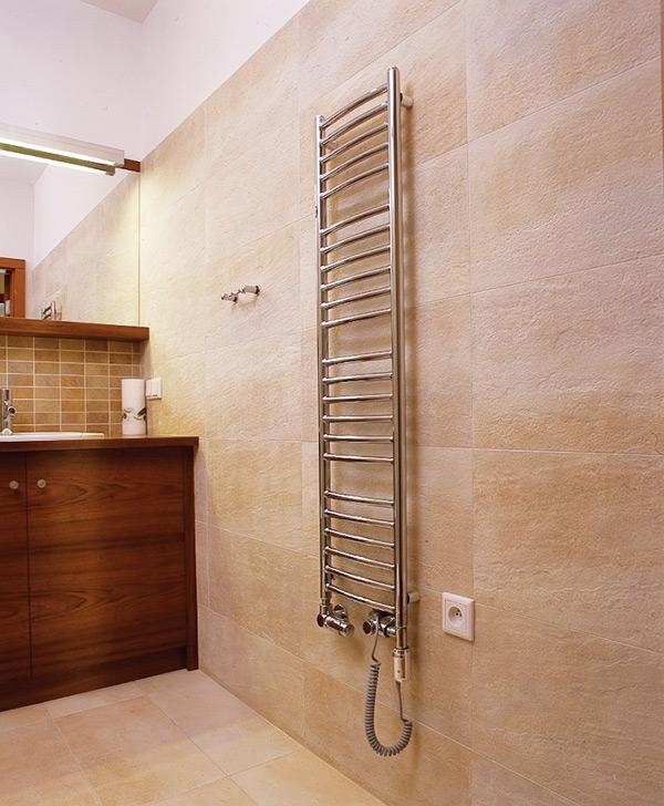 Электрический полотенцесушитель для ванной своими руками