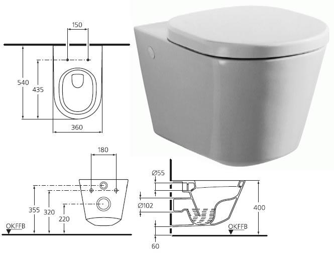 Подвесной унитаз инструкция