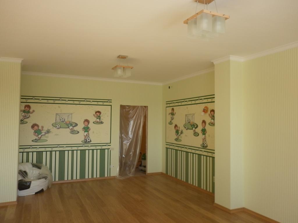Услуги - Поклейка обоев шпатлевка стен покраска потолка в