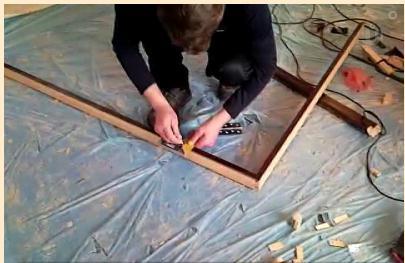 Установка распашных межкомнатных дверей своими руками видео