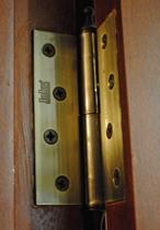 Как сделать петель на дверь 47