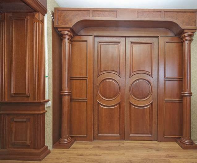 Двери межкомнатные Беленый дуб купить в Санкт-Петербурге