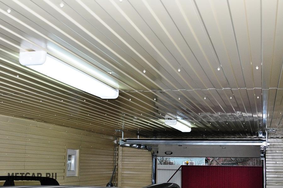 Как провести свет в гараж?