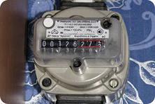 Замена газового счетчика в частном доме