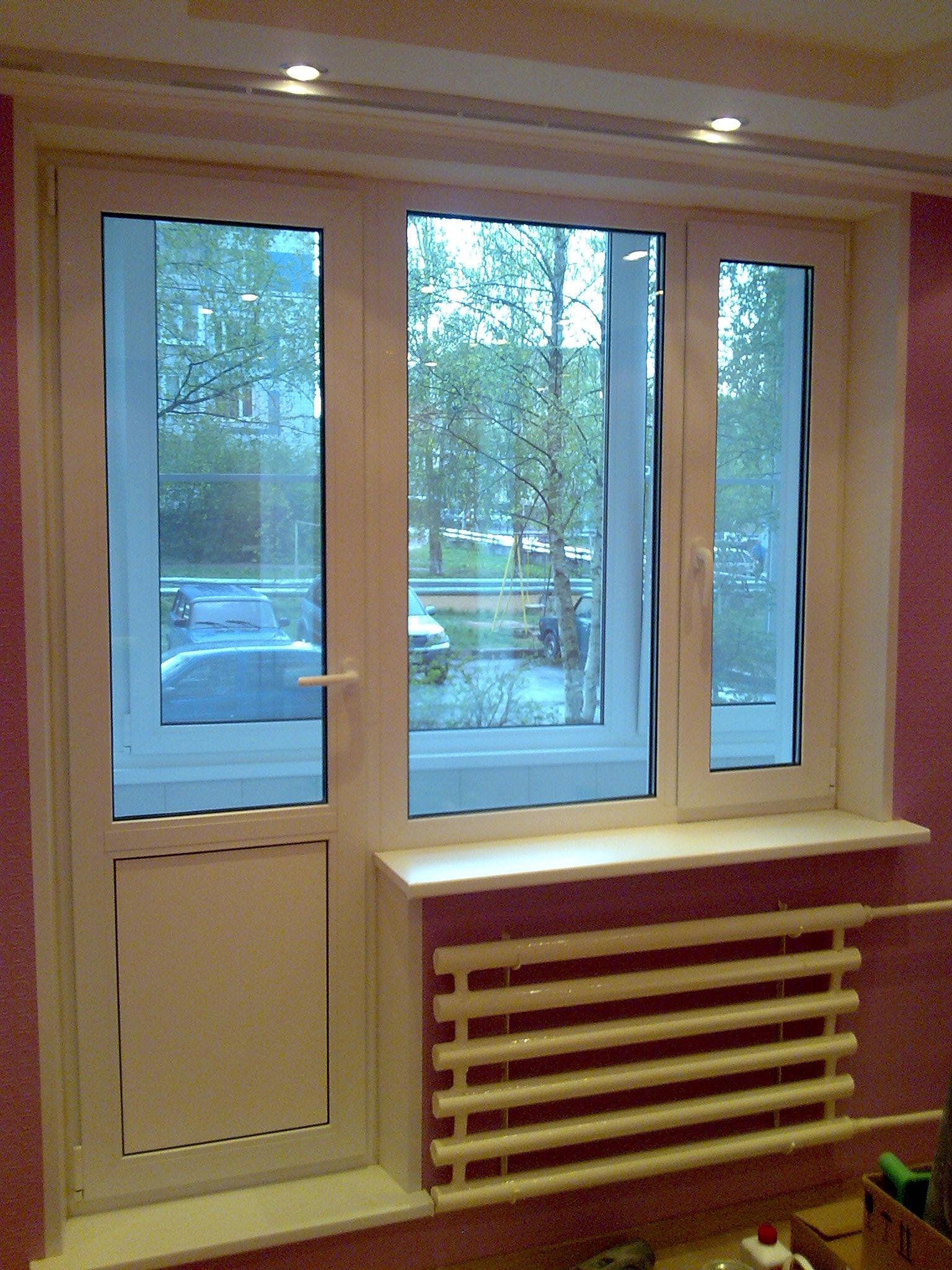 Как выставить раздвижное окно на балконе..
