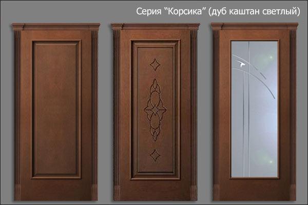 Двери из массива - заказать изготовление входной двери из
