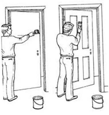 Правила окраски деревянного окна масляной краской
