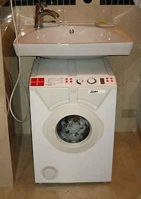 Стиральная машина автомат Занусси под раковину