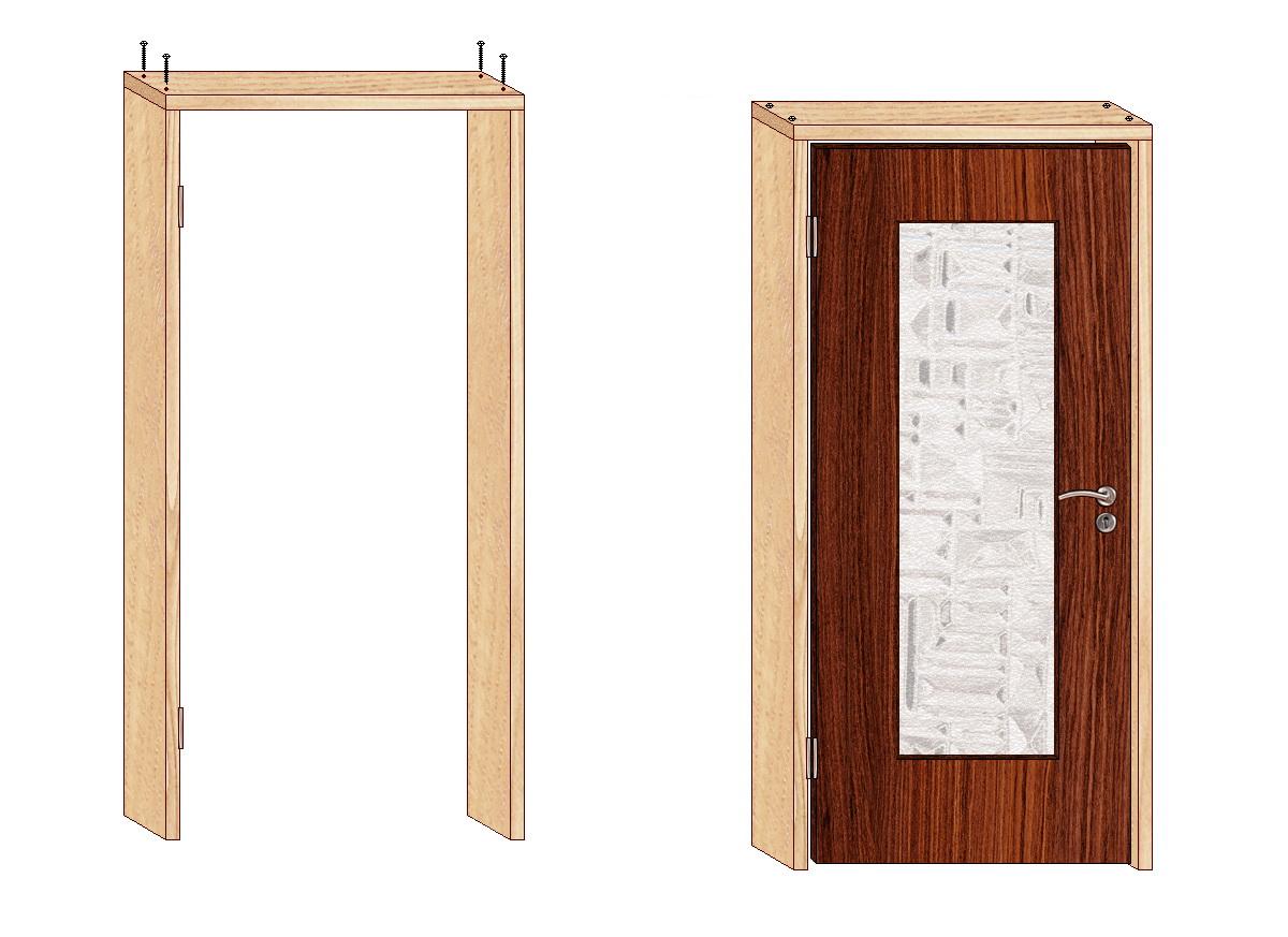 31Установка китайской металлической двери своими руками
